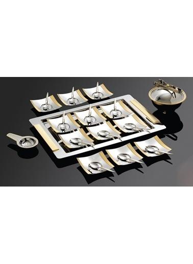 Havana Altın 40 Parça Çay Seti-Narin